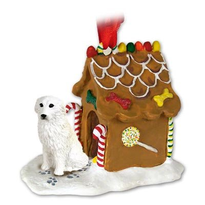Great Pyrenees Ginger Bread House Ornament