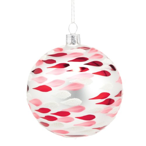 Department 56 Peppermint Forest Ball with Drops Ornament, 3.5-Inch