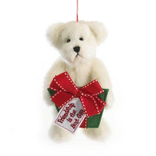 Enesco Boyds Plush 5-Inch Holiday Thinking of You Ornament, Friendship