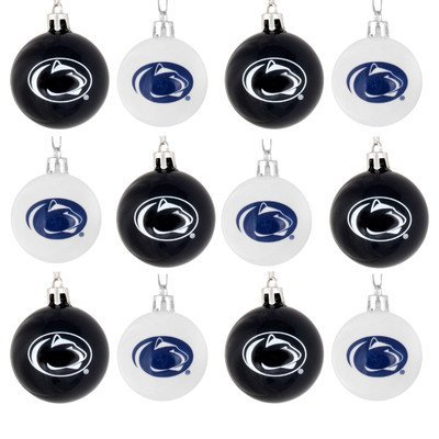 NCAA Ball Ornament (Set of 12) NCAA Team: Penn State