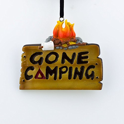 Gone Camping Christmas Ornament Tree