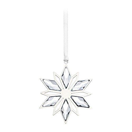 Swarovski Silver Star Christmas Ornament