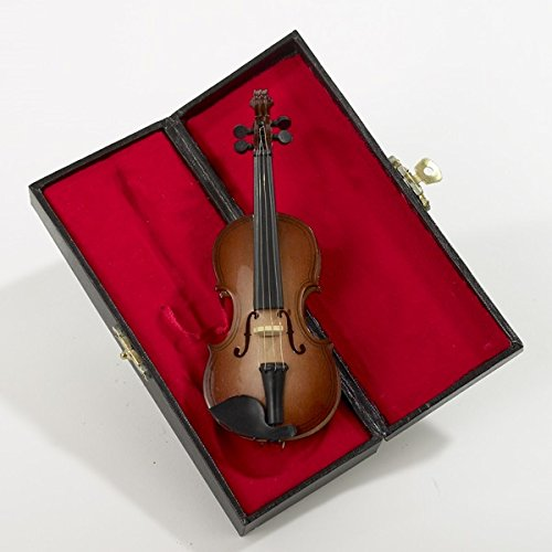 Kurt Adler 5.5″ Wood Violin Ornament
