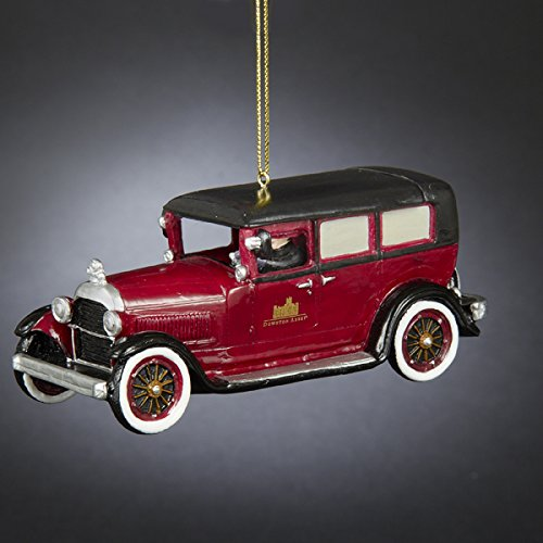 Kurt Adler Downton Abbey 1924 Sunbeam Car Ornament, 5-Inch