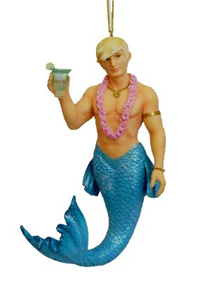 December Diamonds Ornament – Aqua Merman