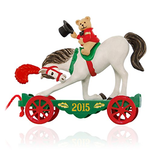 Hallmark Keepsake Ornament: A Pony for Christmas with Teddy Bear: 18th in the A Pony for Christmas series