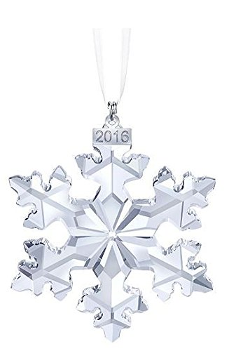 Swarovski X-Mas Annual Edition 2016 Crystal Star Ornament – 25th Anniversary