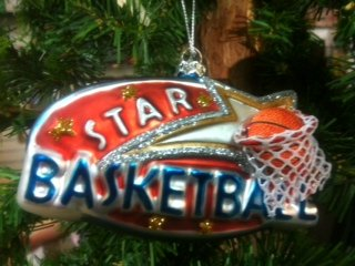 Basketball Star, Ornament
