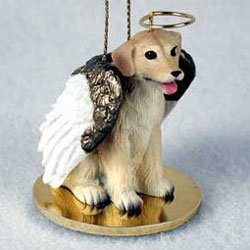 Christmas Ornament: Yellow Lab