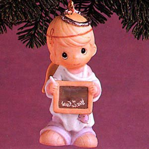 "Precious Moments: ""Peace on Earth… Anyway"" Ornament"