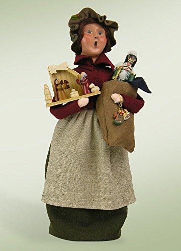13″ Festive Seasons Nutcracker and Ornament Woman Christmas Figure