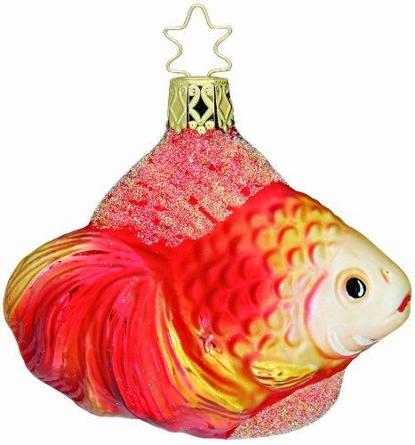 Gorgeous Goldfish, #1-190-01, by Inge-Glas of Germany