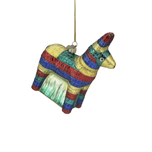 Kurt Adler 5-1/2-Inch Noble Gems Glass Piñata Ornament