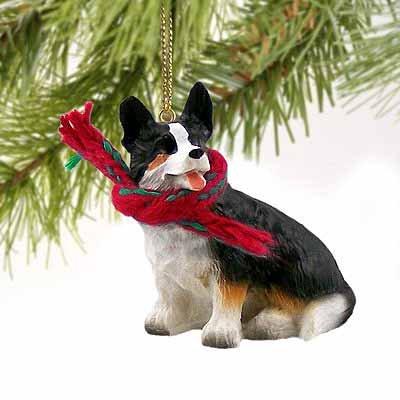 Welsh Corgi Cardigan Miniature Dog Ornament