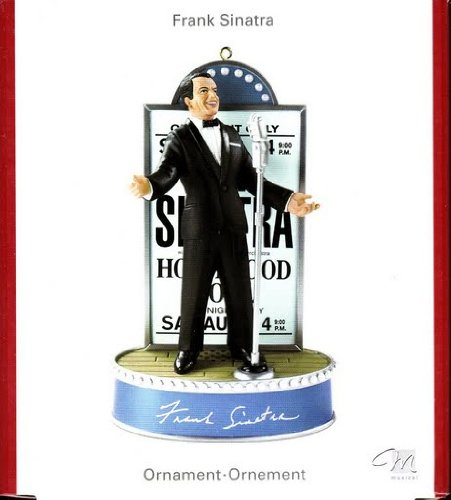 "Carlton Heirloom 2007 Frank Sinatra Ornament ""All of Me"""