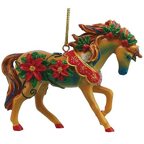 Westland Giftware Marcia Baldwin Resin Ornament, Red Poinsettias