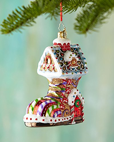 Christopher Radko Sugar Foot Christmas Ornament