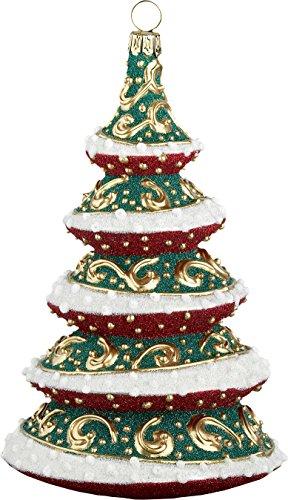 Glitterazzi Regal Royale Tree Ornament by Joy to the World