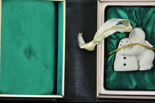 "Snowbabies So Many Books Ornament Dept. 56 Ornament – "" I Love You "" I"