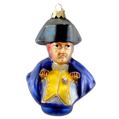 Christopher Radko GENERAL LAFAYETTE Blown Glass Ornament Patriots 1997 Ltd