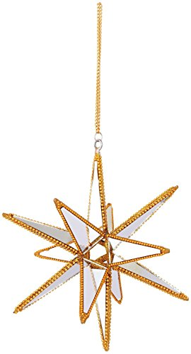 Sage & Co. Mirror Spike Ornament, 7-Inch