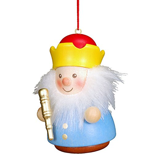 "15-0403 – Christian Ulbricht Ornament – King – 3″""H x 1.75″""W x 2″""D"