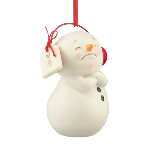 Department 56 Snowpinions Pouty Ornament, 1.97-Inch