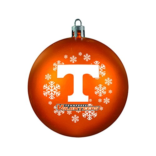 NCAA Tennessee Volunteers Shatterproof Ball Ornament, 3.125″, Orange