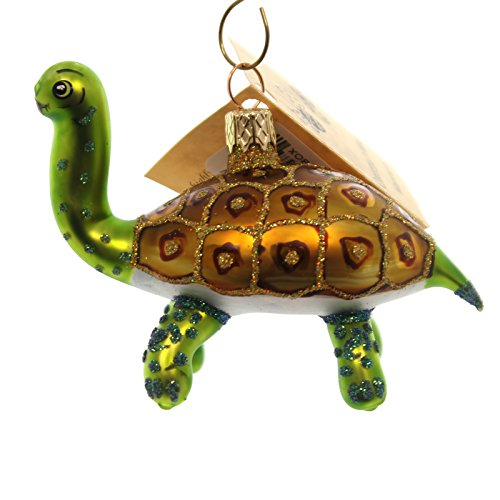 Christina's World TIMMY TURTLE Glass Ornament Reptile Zoo881