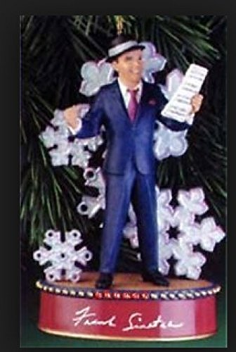 Frank Sinatra Carlton Cards Ornament Swingin Sound of Christmas Crooners Series