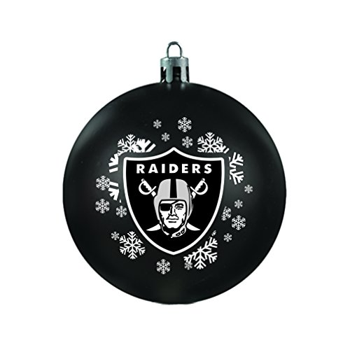 NFL Oakland Raiders Shatterproof Ball Ornament