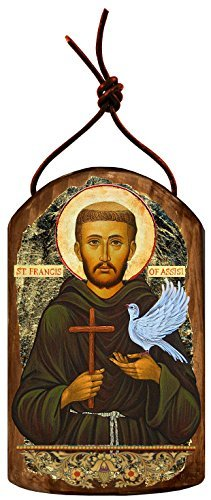 G. Debrekht Saint Francis Icon Wooden Ornament