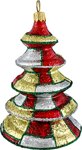 Glitterazzi Moderno Tree Ornament by Joy to the World