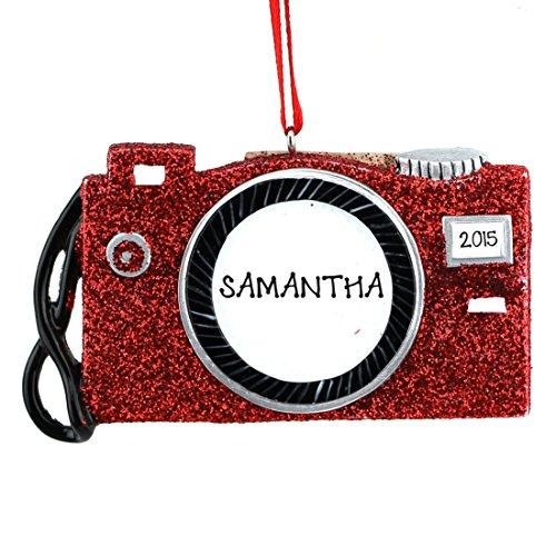 Digital Camera Personalized Christmas Ornament