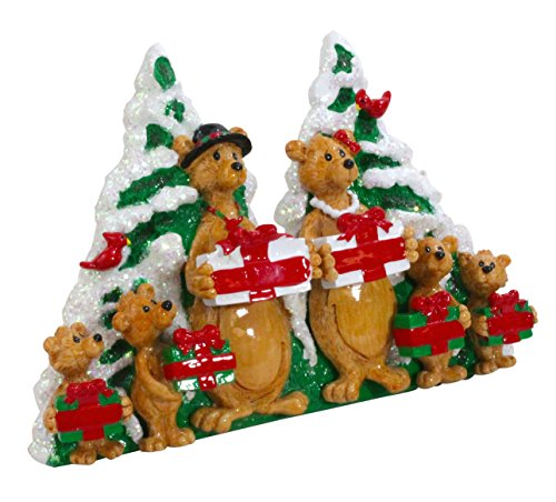Rudolph & Me Bear Family Christmas Figurine (6-Members)