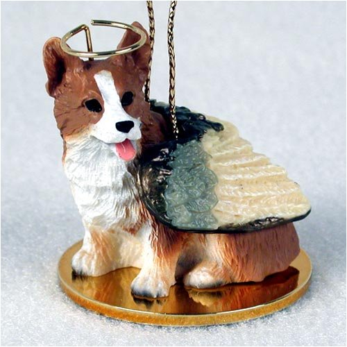 Welsh Corgi Pembroke Angel Dog Ornament