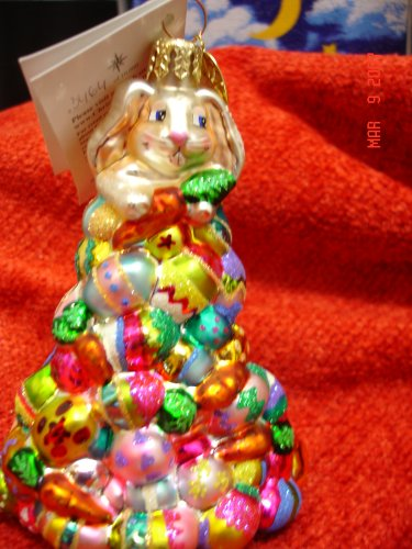 Christopher Radko Egg Scramble Easter Ornament