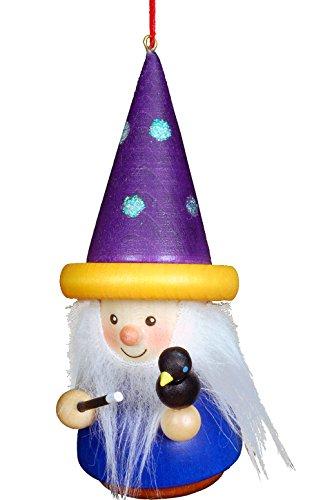 """15-0408 – Christian Ulbricht Ornament – Wizard – 4.5″""""H x 2″""""W x 2.5″""""D"""