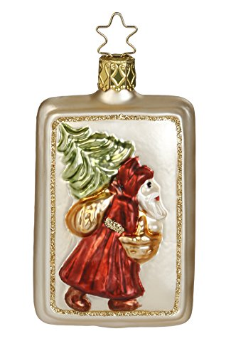 Vintage Weihnachtsmann, #1-041-15, from the 2015 Vintage Christmas Collection by Inge-Glas Manufaktur; Gift Box Included