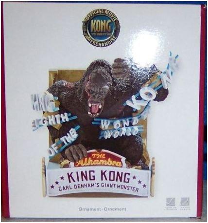CARLTON CARDS HEIRLOOM KING KONG EIGHTH WONDER ORNAMENT