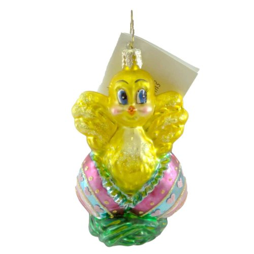 Christopher Radko EASTER OUTING GEM Blown Glass Ornament Chick Eggs