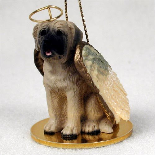 Mastiff Angel Dog Ornament