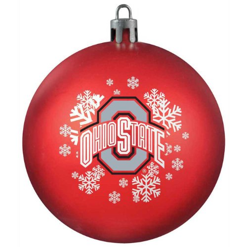 NCAA Ohio State Buckeyes Shatterproof Ball Ornament