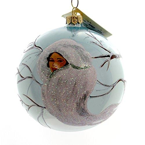 Christina's World ICE PRINCESS Glass Ornament Snow Birds Tra408