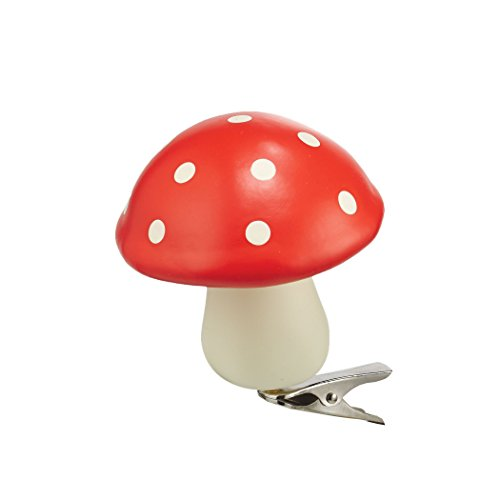 Department 56 Gnome for The Holidays Mushroom Clip Ornament
