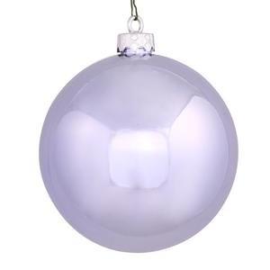 Vickerman 34880 – 3″ Lavender Shiny Ball Christmas Tree Ornament (12 pack) (N590836DSV)