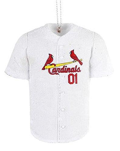 Saint Louis Cardinals MLB Resin Jersey Holiday Christmas Ornament