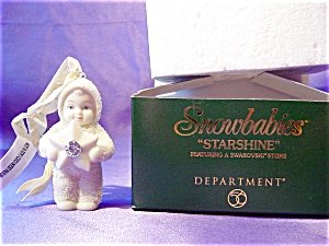 "Department 56 – Snowbabies – ""Starshine"" Ornament"