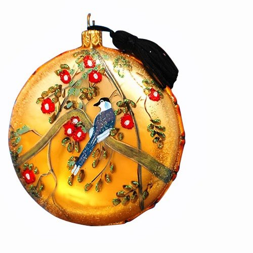 Ornaments to Remember: CHINOISERIE Christmas Ornament (Cherry Blossom)