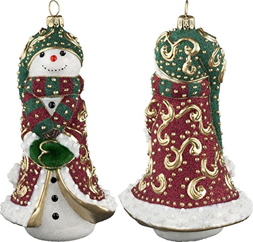 Glitterazzi Regal Royale Schmoowman Ornament by Joy to the World